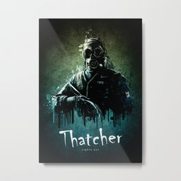 Operator Thatcher from Rainbow Six Siege Metal Print