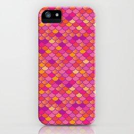 Sunset Mermaid iPhone Case