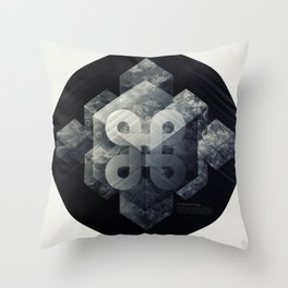 Geometry of Ecology Throw Pillow