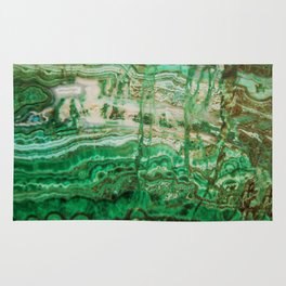 MINERAL BEAUTY - MALACHITE Rug