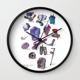 Survival Kit Wall Clock