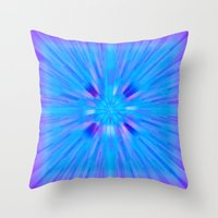 cracked Throw Pillows featuring Cracked! by Shawn King