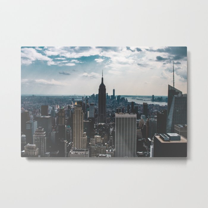 NEW YORK - CITY MANHATTAN - EMPIRE STATE BUILDING - PHOTOGRAPHY Metal Print