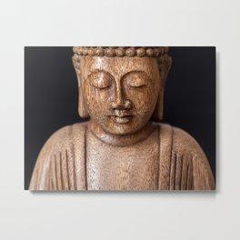 The Buddha in Meditation Metal Print