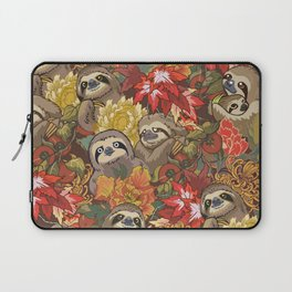 Because Sloths Autumn Laptop Sleeve