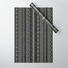 Mud Cloth Stripe Wrapping Paper