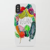 vegan iPhone & iPod Cases featuring Vegan  by BriannaCamp