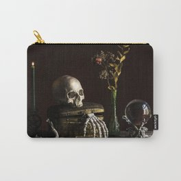 Vanitas, Memento Mori, Macabre Halloween Photo Carry-All Pouch
