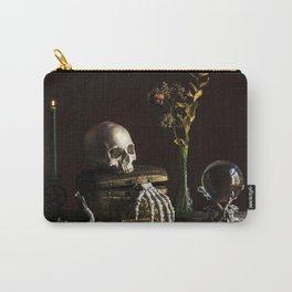 Vanitas, Memento Mori, Macabre Halloween Photo Carry-All Pouch