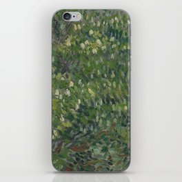Horse Chestnut Tree in Blossom iPhone Skin