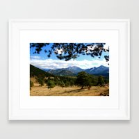 colorado Framed Art Prints featuring Colorado  by Shelby Babbert Photography