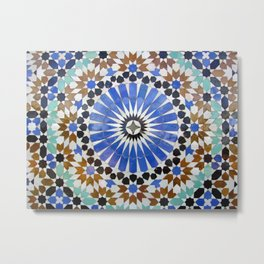 Mosaics of colors Metal Print