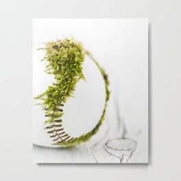 Dragon Moss ball baseball Metal Print