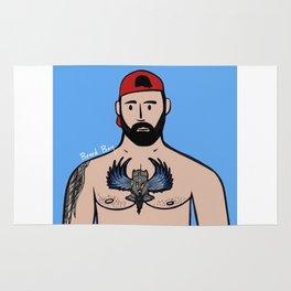 Beard Boy: Jose Santos Rug