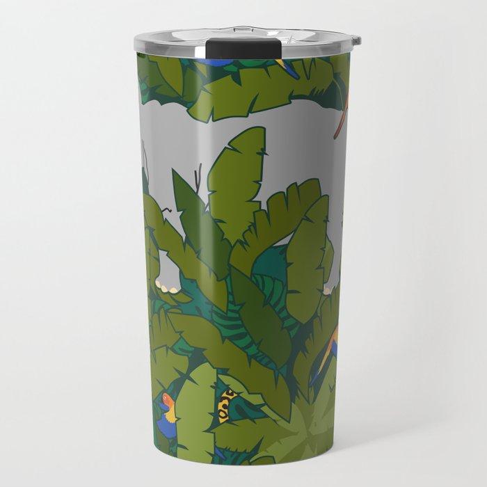 Animals in the Jungle Travel Mug