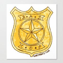 Bad Cop Canvas Print