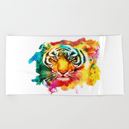 Animal Pattern Beach Towel