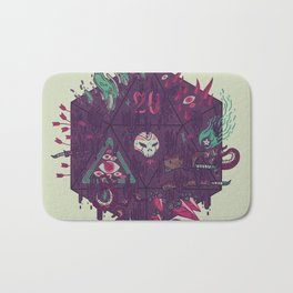 Die of Death Bath Mat