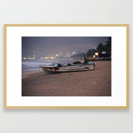 A Storm is Coming Framed Art Print