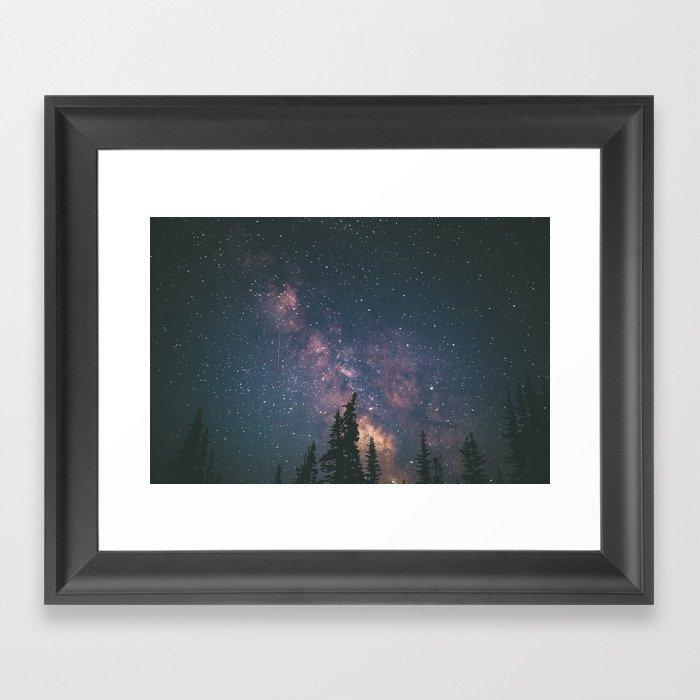 Milky Way II Framed Art Print