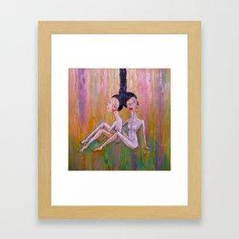 Tied Together Framed Art Print