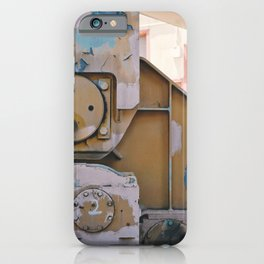 industrial pastels 1 iPhone Case