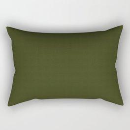 Dark olive textured. 2 Rectangular Pillow