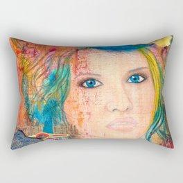 Tousled Rectangular Pillow
