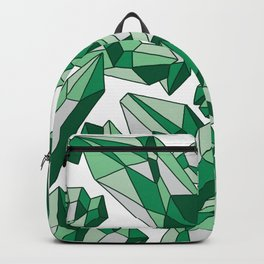 Falling crystals #2 Backpack