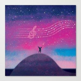 Maestro of Stars Canvas Print