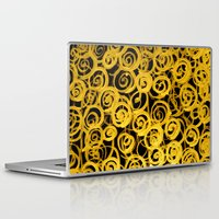 pasta Laptop & iPad Skins featuring pasta by clemm