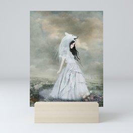 sympathy of wolves Mini Art Print