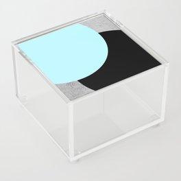 Concrete Circles Acrylic Box
