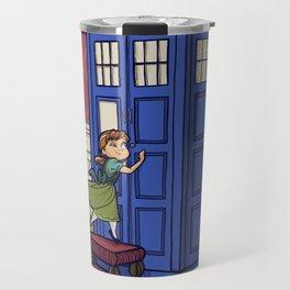 Who wants to Build a Snowman? Travel Mug