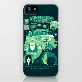 Adventure Comics iPhone Case