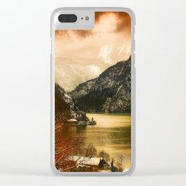 Austrian Wanderlust Clear iPhone Case