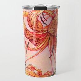 Tiger Lilies Trio Travel Mug