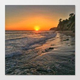 Sundown Santa Barbara Canvas Print