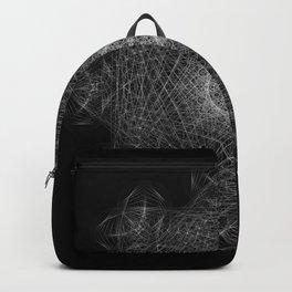 Cosmic Cymatics Mandala Backpack