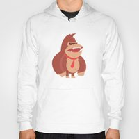 donkey kong Hoodies featuring Donkey Kong Tribute by Joseph Le