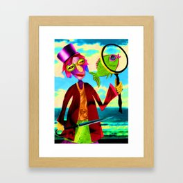 Fish of the Day Framed Art Print