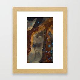joelarmstrong_rust&gold_01 Framed Art Print