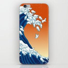 Llama Waves iPhone Skin