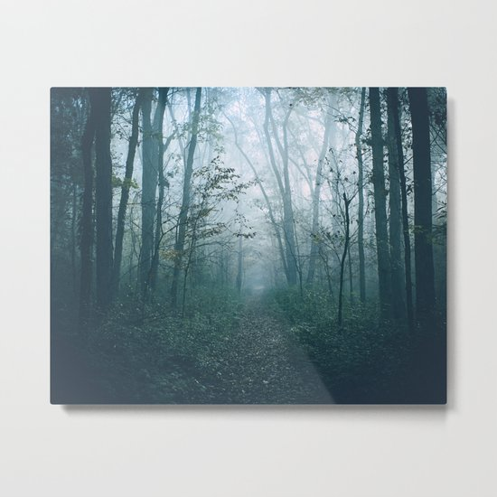 where the air is thick Metal Print