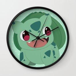 BulbaBulbasaur Wall Clock