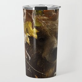 Grizzly Bear - Legend of the Fall Travel Mug
