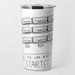 Procrastination Shoppe Travel Mug