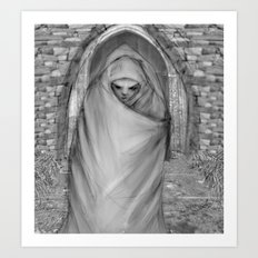 Pilgrimage Art Print