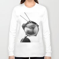 shells Long Sleeve T-shirts featuring shells by Marga Parés