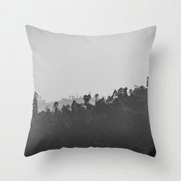Sri Lankan | Black Forest Throw Pillow